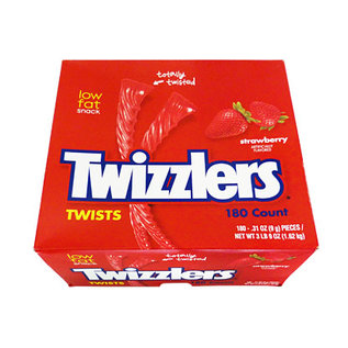 Twizzlers Strawberry Twizzlers 180 stuks