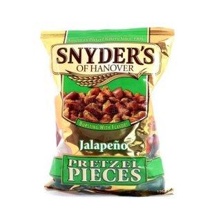 Snyders Pretzel Pieces Jalapeno 125 gr