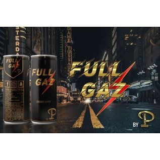 Full Gaz energy drink 25 cl by Pepone