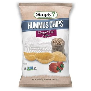 Simply 7 Hummus roasted red pepper 84 gr