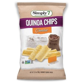 Simply 7 Quinoa Chips Cheddar 70 gr