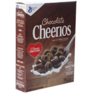 General Mills Cheerios Chocolat cereal