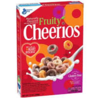 General Mills Cheerios Fruity cereals