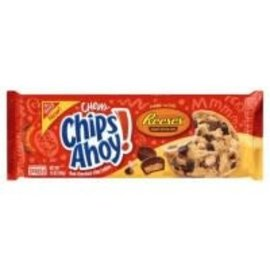 Nabisco Chips Ahoy! Chewy Reese's peanut butter cup cookies