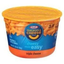 Kraft Kraft Macaroni & cheese triple cheese cup