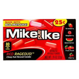 Mike&Ike Mike & Ike Red Rageous Minis