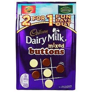 Cadbury Cadbury Dairy Milk Mixed Buttons 115 gr