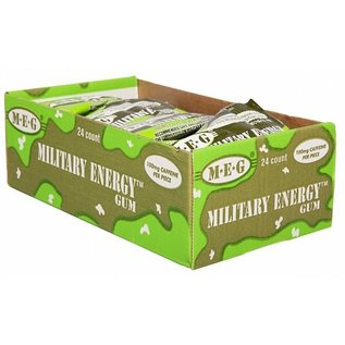 Military Energy Spearmint Military Energy Gum