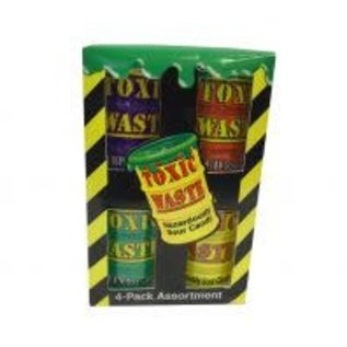 Toxic Waste Toxic Waste 4-pack Assorted Drum 4 x 42 gr