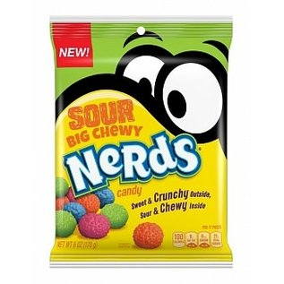Nestle USA Sour Big Chewy Nerds 170 gr