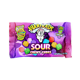 Warheads Warheads Sour Chewy Cubes 70 gr