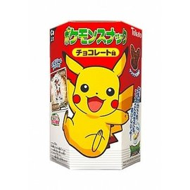 Pokémon Snack Chocolate Puffs 23 gr