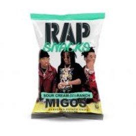 Rap Snacks Ranch Migos Sour Cream 78 gr