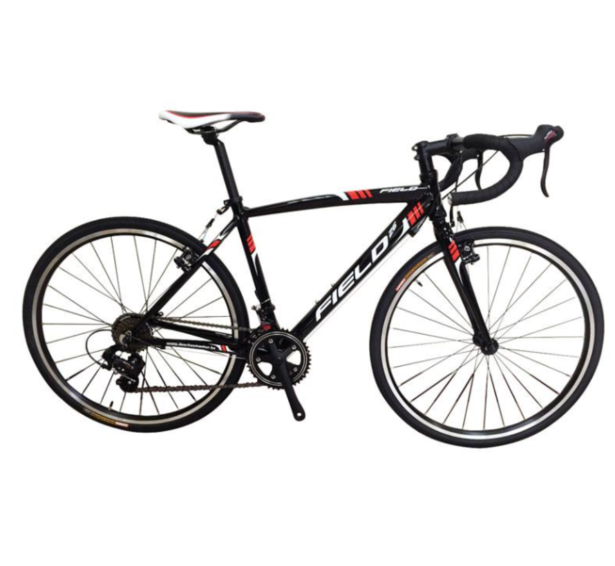 Racefiets Cyclecross H 44 Cm 26 Inch 14 Speed Zwart