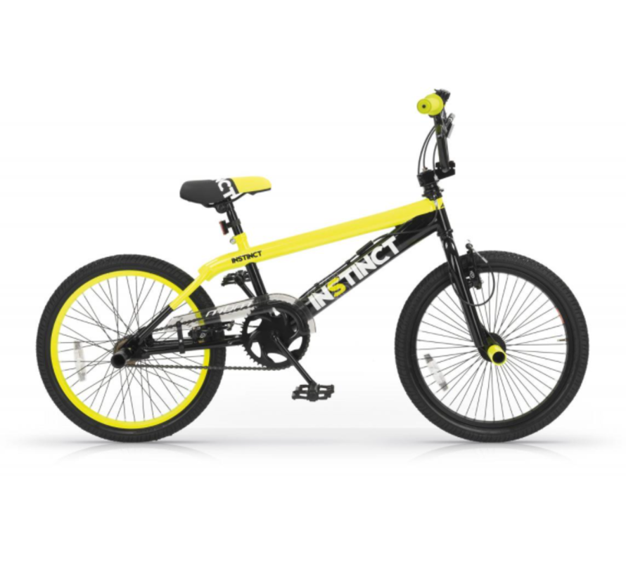 BMX Freestyle 20 inch Instinct Zwart-Geel