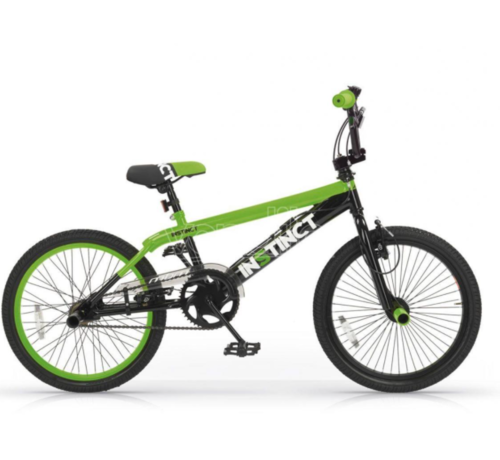 BMX Freestyle 20 inch Instinct Zwart-Groen