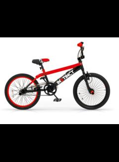 BMX Freestyle 20 inch Instinct Zwart-Rood