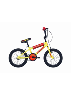 BMX KICK 16 inch Geel