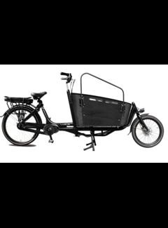 Vogue E-bakfiets Vogue Elektrische bakfiets twee wielen Carry zwart 481 Watt