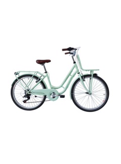 Retro Meisjes fiets RETRO 26inch met 6 versnellingen verkrijgbaar in twee kleuren
