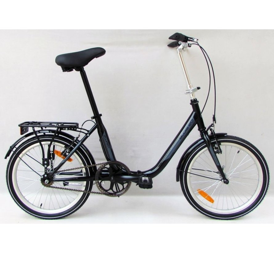 MAGIC BLOIS 20 INCH VOUWFIETS 1 SPEED BLACK