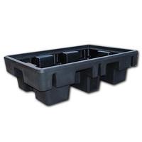 Tinas de retenção de plástico para Europaletes, 230 l, 1310x910x380mm