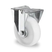 Rodízio fixo, diâmetro de 125mm, Rolamento de rolos, PA