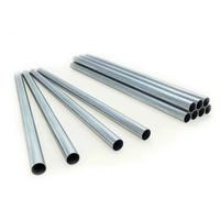 Tubos para sistemas de armazenamento flexível com racks, galvanizado a quente, 1500 mm de comprimento