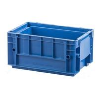 Caixa de plástico empilhável RL-KLT 3147, base lisa, 297x198x147,5mm