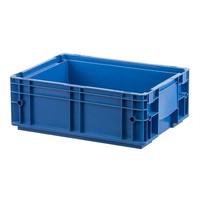 Caixa de plástico empilhável RL-KLT 4147, base lisa, 396x297x147,5mm