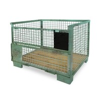 EPAL Gitterbox, usada, 1240x835x970mm