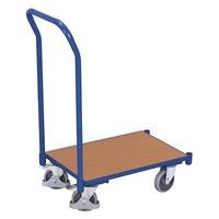 Carrinho de plataforma com pega para caixas Euronorm, 250 kg, 740x415x970mm