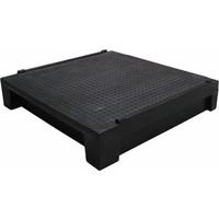 Plataforma modular para rampa, 795x750x165mm