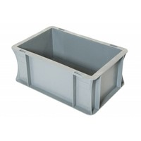 Caixa Euronorm, fechada, 5 litros, plástico PP, 300x200x120mm