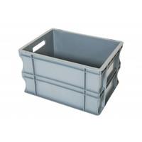 Caixa Euronorm, fechada, 20 litros, plástico PP, 400x300x235mm