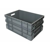 Caixa Euronorm, fechada,55 litros, plástico PP, 600x400x290mm