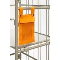 Prestar Bolsa de documentos para roll container, com proteção anti-salpicos