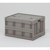 Rotom Caixa de plástico rebatível usada 800x600x450mm