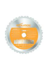 Evolution Power Tools Build Line MULTIFUNCTIONEEL ZAAGBLAD RAGE 185 MM