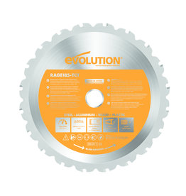 Evolution Power Tools Build Line Multifunctional saw blade Rage 185 mm