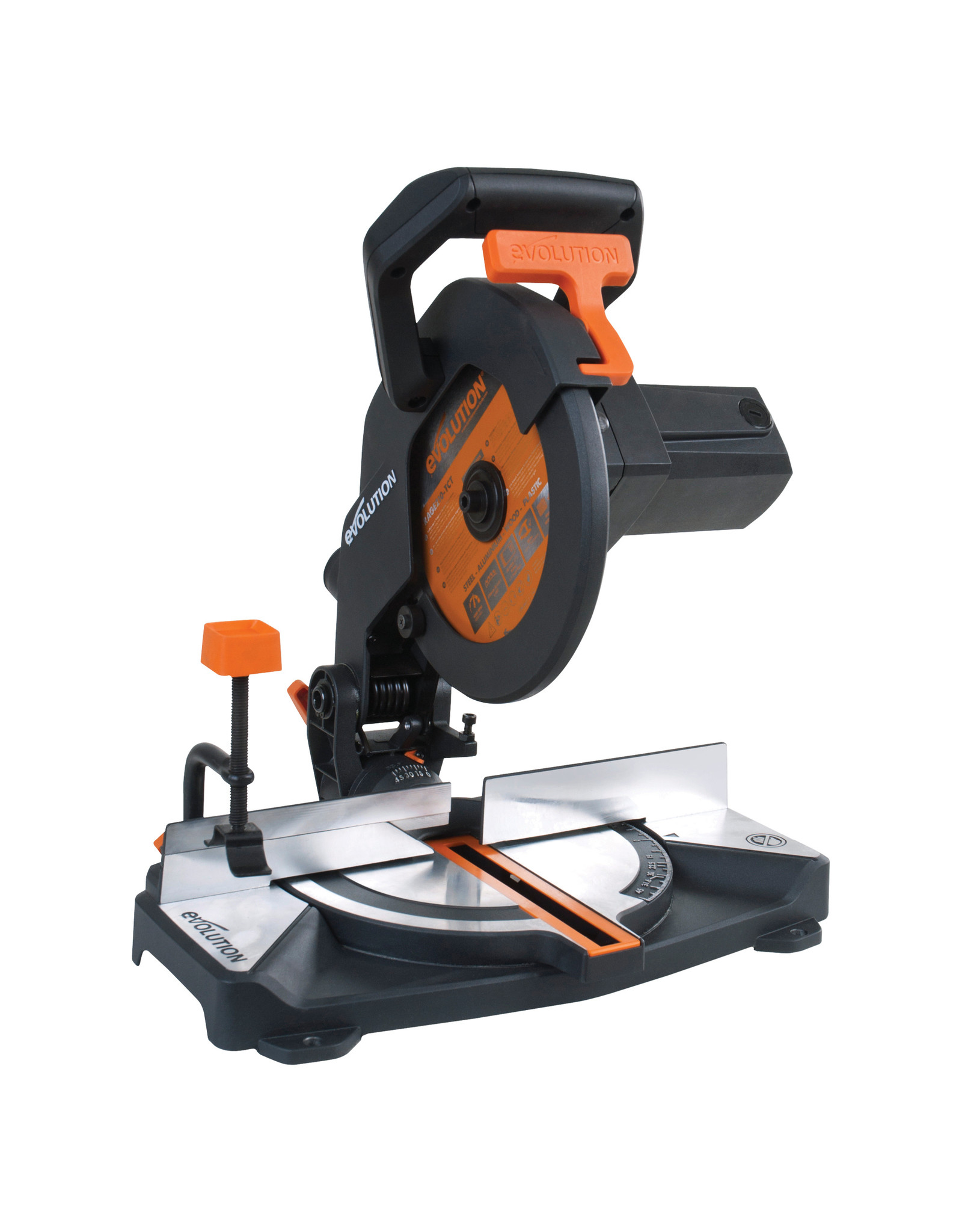 Evolution Power Tools Build Line VEELZIJDIGE VERSTEKZAAG RAGE R210 CMS+