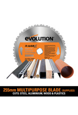 Evolution Power Tools Build Line MULTI-MATERIAL TISCHSÄGE RAGE 5-S