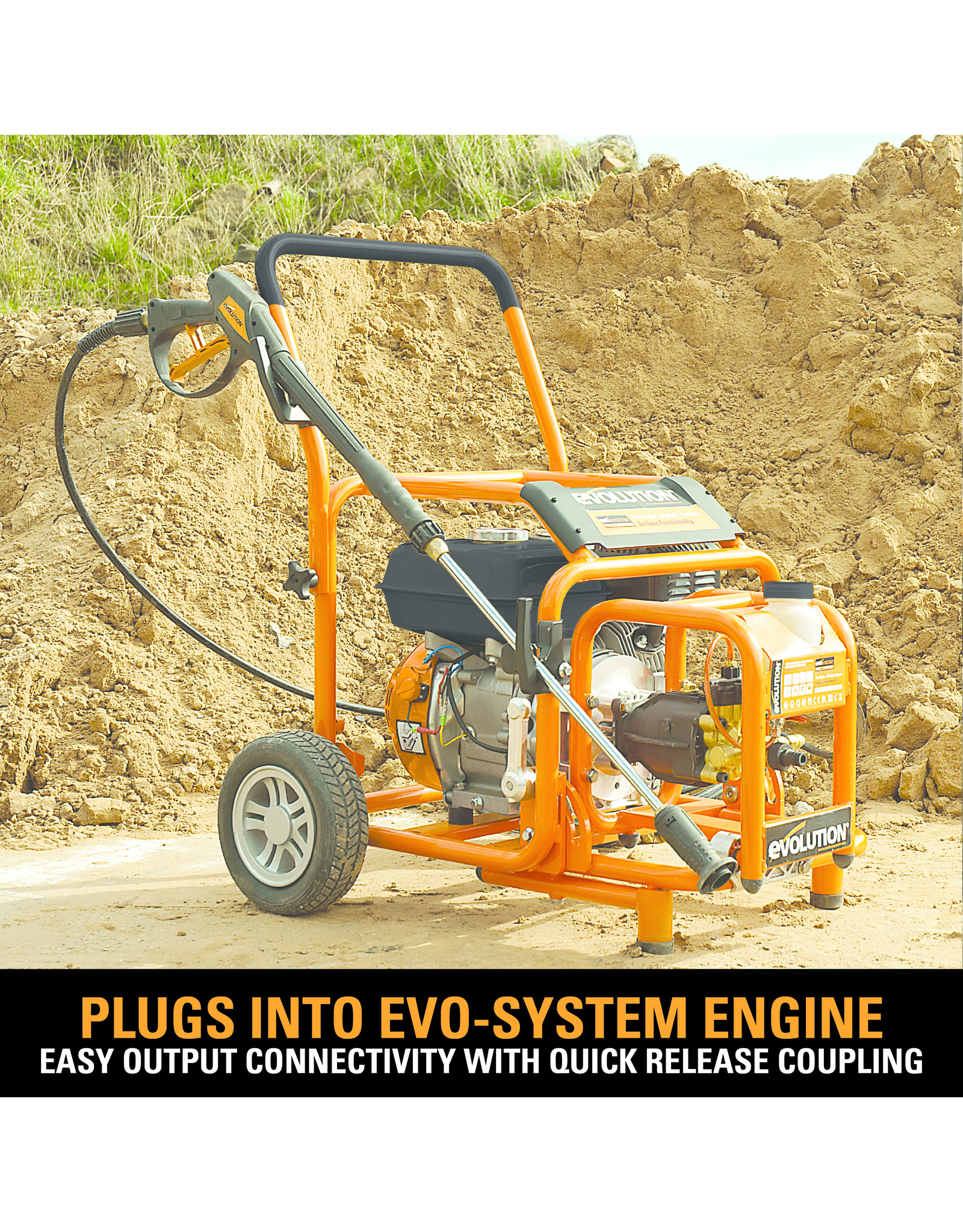 Evolution Power Tools Build Line EVO SYSTEM HOCHDRUCKREINIGER