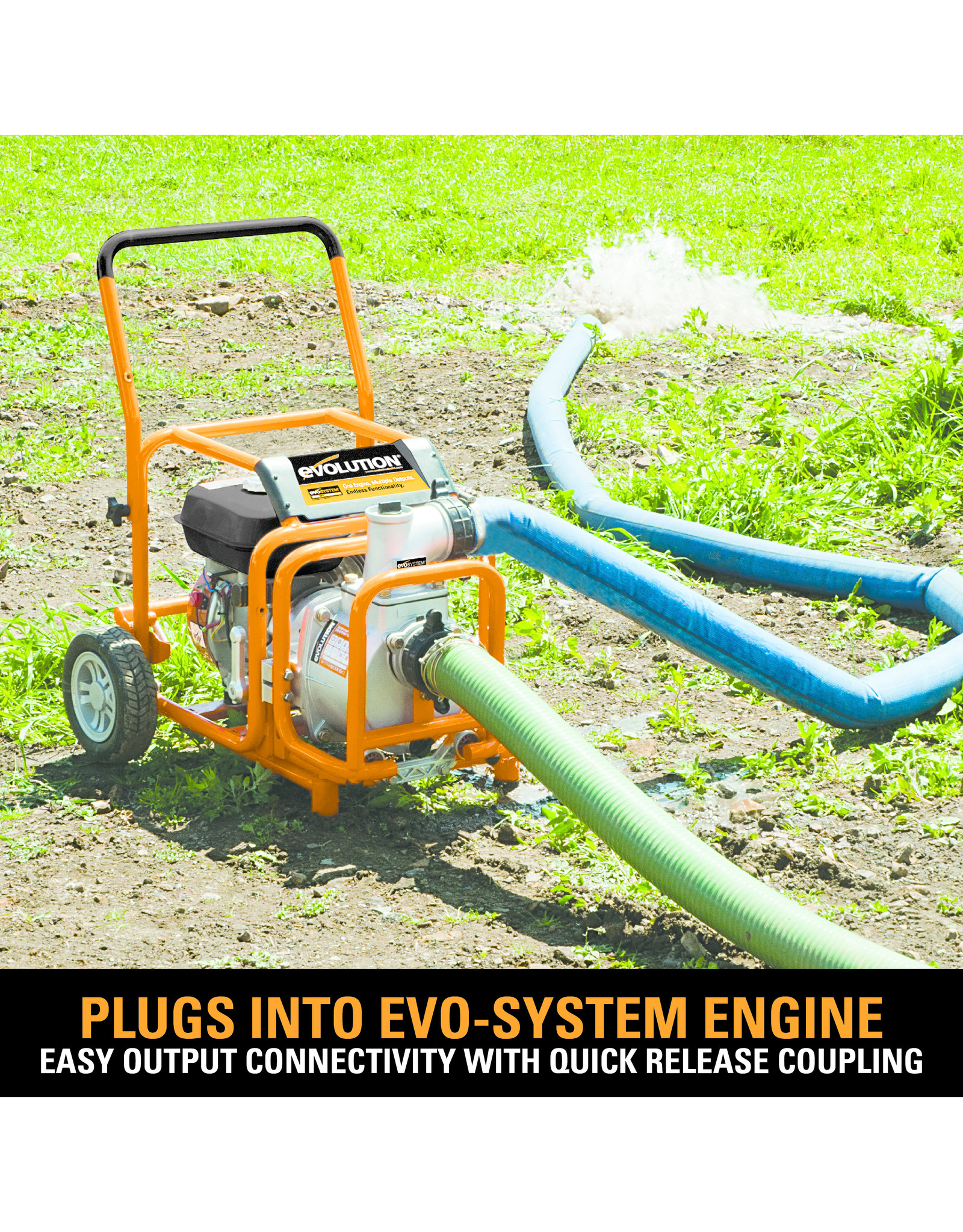 Evolution Power Tools Build Line EVO SYSTEM WATERPOMP