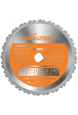 Evolution Power Tools Build Line MULTI-MATERIAL TCT-KLINGE RAGE 210 MM