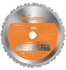 Evolution Power Tools Build Line Lame Multifonctionnelle Rage 210 mm