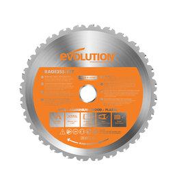 Evolution Power Tools Build Line Multifunctional saw blade Rage 255 mm