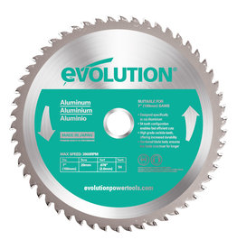 Evolution Power Tools Steel Line Lame Aluminium 180 mm