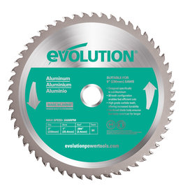 Evolution Power Tools Steel Line Lame Aluminium 230 mm