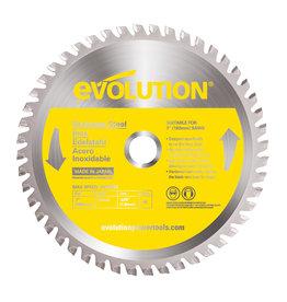 Evolution Power Tools Steel Line Lame Inox 180 mm